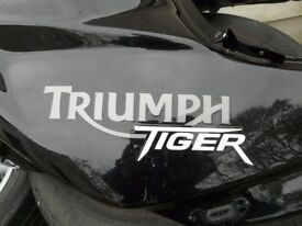 Triumph Tiger 800 Fuel Tank