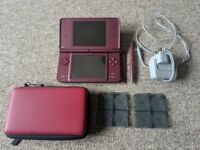 Nintendo DSi XL with 13 games and more