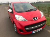 Peugeot 107 1.0 Sportium 2011 Red
