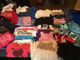 Girls Clothes Bundle Age 3-4yrs (Over 35 items)