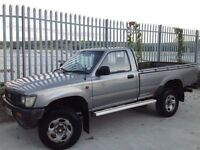 TOYOTA HILUX SINGLE CAB 4X4 2.5 DIESEL MANUAL SILVER