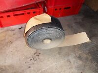 large roll of sand paper