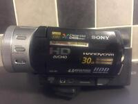 Sony handycam camcorder camera full hd hdd & memory card