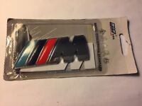 SUPERIOR QUALITY BMW M SPORT BOOT BADGE - NEW