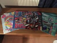 SELECTION OF CHILDRENS ACTIVITY BOOKS - MY LITTLE PONY, PAW PATROL, CAPTAIN AMERICA AND FINDING DORY