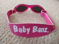Baby Banz Baby Adventure Sunglasses, pink