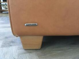 Natuzzi large leather armchair