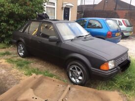 ford escort mk 3,1982,yellow,22k,black,£2500,no offers