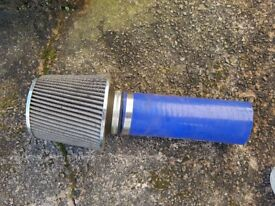 Cone air intake / Induction kit / Air filter