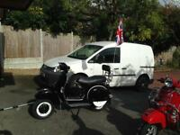 Vespa px 150 rare only done 500 miles 2017