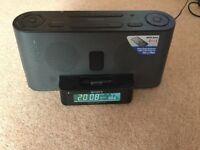 Sony AM / FM clock radio