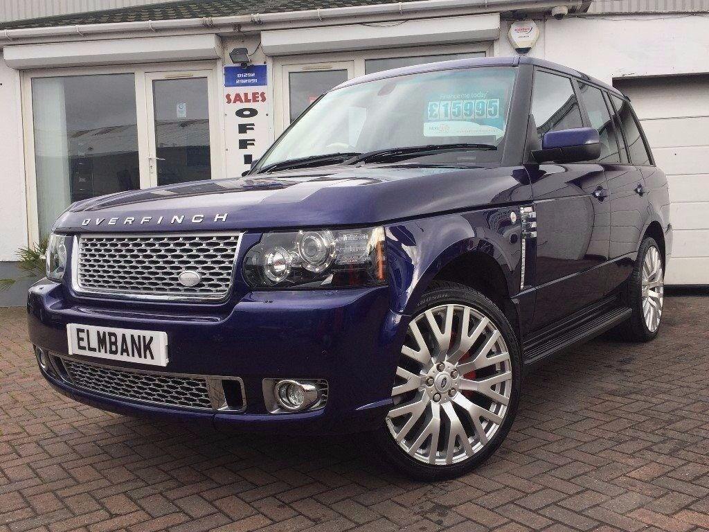 2007 07 Land Rover Range Rover 3.6TD V8 AUTO Vogue~FULL OVERFINCH KIT~