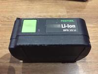 Festool BSP 15 Li 14.4v battery for sale used few times