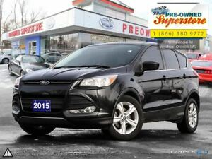 2015 Ford Escape SE***ONE OWNER, CLEAN CARPROOF***