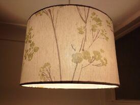 Light shade with tree design