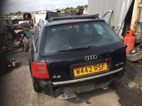 Audi A6 1.9 tdi 2000 year Breaking parts available