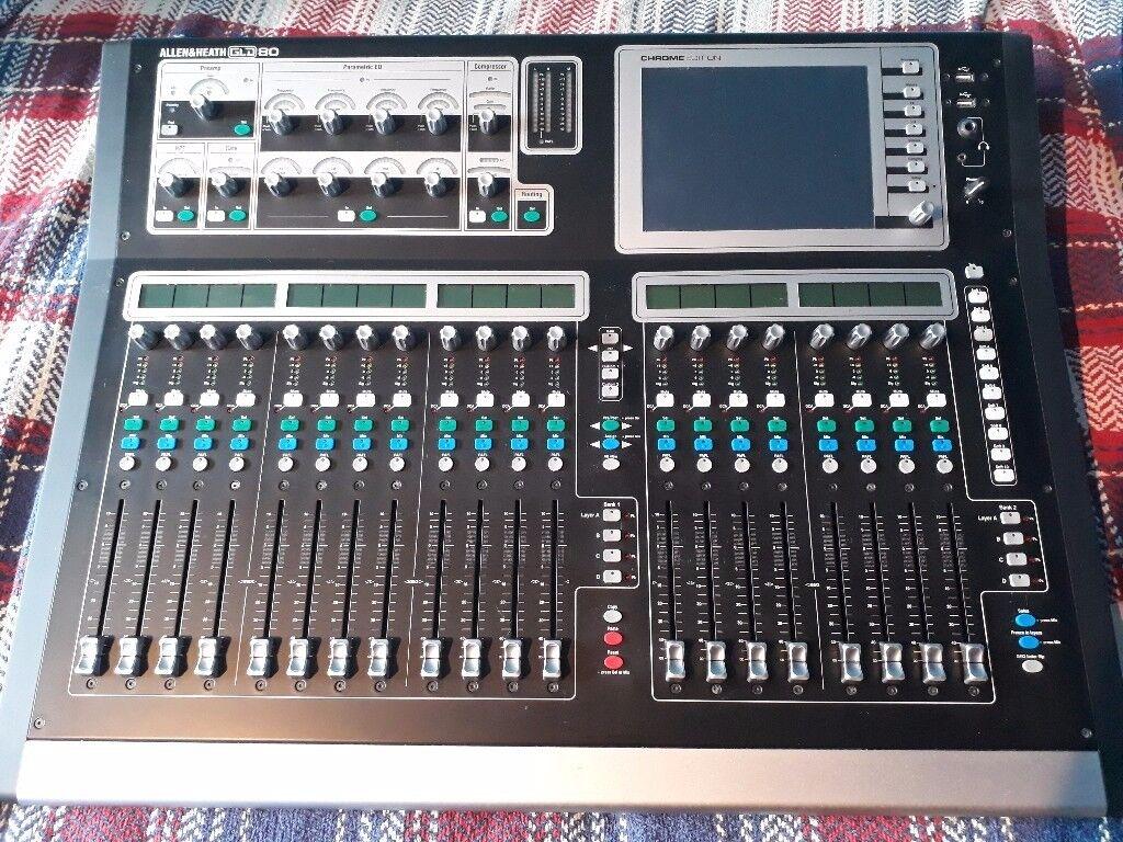 ALLEN & HEATH GLD80 CHROME + AR0804