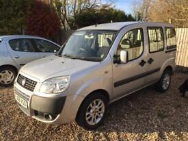 FIAT DOBLO 1.4 8V Dynamic WHEELCHAIR ACCESSIBLE VEHICLE Gowrings Conversion (silver) 2008