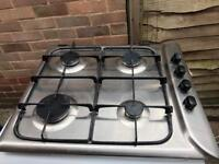 Hotpoint Gas Hob Stainless Steel