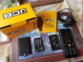 JCB mobile phone