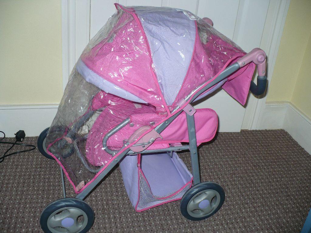 Zapf Creation Baby Born Combi Pram 3 In1 Travel System