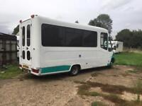 Mercedes 413cdi motorhome project. Swap for discovery 3