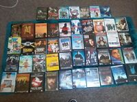 50 Dvds some box sets. Great condition