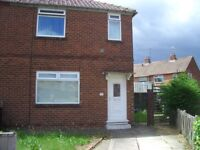 House to Let, 3 bedroom, semi-detached. Gas C/Heating, Large garden, unfurnished.