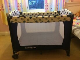 Travel cot.hardly used and in immaculate condition.very well looked after.