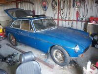 Mgb gt 1972 for restoration