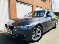 2012 62 BMW 3 Series 318d Sport 2.0 Twin Turbo Diesel++FSH++LEATHER+NEW TIMING CHAIN not 320d a4 330