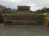 Various sized scaffold planks / boards