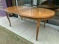 American Cherry extending dining table