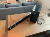 SOLD Samsung Sound Bar (Hw-d450) With Wireless Subwoofer (Ps-wd450)