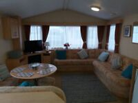 3 bedroom 8 berth caravan for hire on kingfisher site
