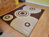 Brown/beige carpet perfect condition