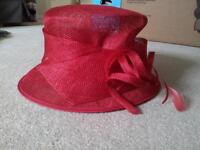 Red Debut Hat