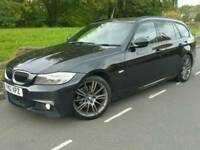 2012 BMW 318D SPORT PLUS EDITION*FSH*NAVIG'N*LEATHER*H/SEATS*R.TAX-£30+CHEAP INS*#530D#AVANT#M SPORT