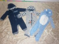 Baby boy 9-12 bundle of clothes (Sweatshirt all-in-one suits)