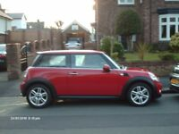 Low mileage Mini Cooper 1.6 complete with sport and chilli packs.