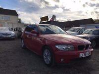 BMW 1 Series 2.0 118d SE 5dr, 2006 (56 reg), Hatchback, 128,662 miles, Manual Diesel, MOT 11/09/2018