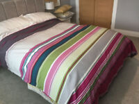 Double duvet cover with 2 pillow cases - Next - Stripe