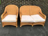 Sofa and armchair