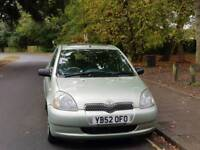 TOYOTA YARIS 5DOOR 82000 WARRANTED MILES 9SERVICES MOT TILL20/9/2018 HPI CLEAR EXCELLENT CONDITION