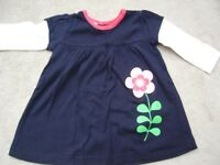 GIRLS BABY BUNDLE 0-6 months - 5 ITEMS- GAP,M&S,Monsoon,Next,Abella dresses & tops