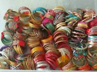 Multiple Sets of Indian Wrist Bangles
