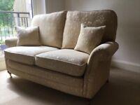 Bridgecraft sofa, chair and footstool