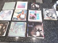 collection of 100 vinyl singles, mostly 80's and 90's