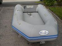 WavCo Rib , Inflatable tender/ fun boat and Yamaha 4hp plus extras