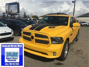 2016 Ram 1500 Sport RARE TRUCK PAYMENT AS LOW AS 300B/W